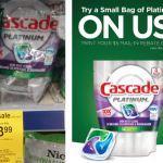 Walgreens: Better Than FREE Cascade Platinum Pacs