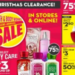 *HOT* Bath & Body Works HUGE 75% off Semi-Annual Sale and Christmas Clearance IS LIVE!!!! Items ONLY $2.50!