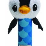 Lamaze High-Contrast Bend and Squeak Toy, Penquin Only $4.80!