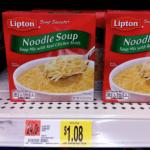 Lipton Soup Secrets Only $0.70 at Walmart