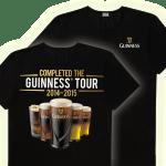 FREE Guinness Tour T-Shirt!