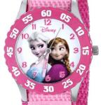 Amazon: Disney Kids' W000970 Frozen Anna Snow Queen Stainless Steel Watch with Pink Nylon Band Only $24.23 (Reg. $37.99)