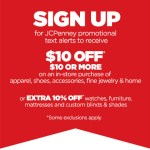 *HOT* $10 off $10+ Purchase JCPenney Coupon