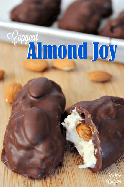Copycat Almond Joy