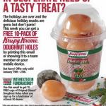 *HOT* FREE Donut Holes at Krispy Kreme