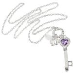 Amazon: Fashion Long Key Pendant Necklace Only $2.99 Shipped