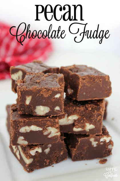Pecan Chocolate Fudge