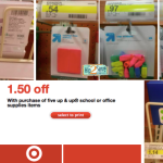 Target: Up & Up School Supplies ONLY 20¢!