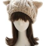 Amazon: Women's Cat Ear Crochet Braided Knit Cap Only $3.99 Shipped