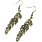 Amazon: Vintage Antique Bronze Leaf Drop Dangle Earrings Only $3.49 Shipped (Reg. $11.76)