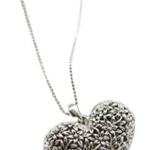 Amazon: Vintage Hollow Out Love Heart Necklace Only $1.92 Shipped