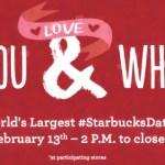 Starbucks: World's Largest Starbucks Date = $5 Coffee + Treat & More