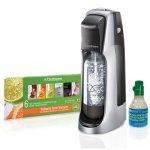 Amazon: SodaStream Fountain Jet Home Soda Maker Starter Kit, Black and Silver Only $54.99 Shipped (Reg. $99.99)