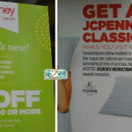 *HOT* JcPenney: $10 off $10 Purchase = FREE Items + A FREE Classic Pillow?!
