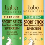 FREE Babo Botanicals Clear Zinc Sport Stick ($12.00 Value)!