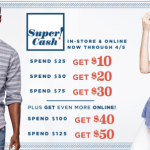 Old Navy: 40% off ALL Adult & Kids Shoes + Earn Super Cash (In-store & Today Only)