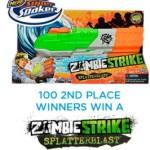 FREE Nerf Super Soaker Zombie Strike Splatterblast Blaster Toys ($19.99 VALUE) – 100 Winners