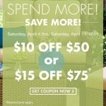 Big Lots: $10 off $50 or $15 off $75 Coupons!