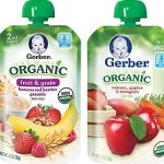 Target: Gerber Organic Baby Food Pouches Only $0.83