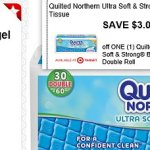 Target: Quilted Northern Ultra Soft & Strong Bath Tissue Double Roll 30-Pack Only $0.36 Per Double Roll
