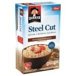 Target: Quaker Steel Cut Oatmeal Only $1.54