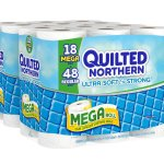 Amazon: Quilted Northern Ultra Soft and Strong Bath Tissue 36 Mega Rolls Only $16.24 Shipped