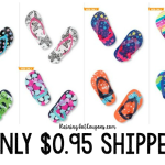 *HOT* The Children's Place Flip Flops ONLY $0.95 Shipped + MORE!