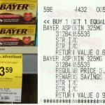 Walgreens: Bayer Aspirin As Low As $0.30