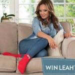 FREE Pair of Limited Edition Leah Remini Cozy Socks ($15 value)! – 1,600 Winners!
