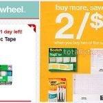 Target: Scotch Magic Tape 3+1 pk Only $1.80 (Last Day)