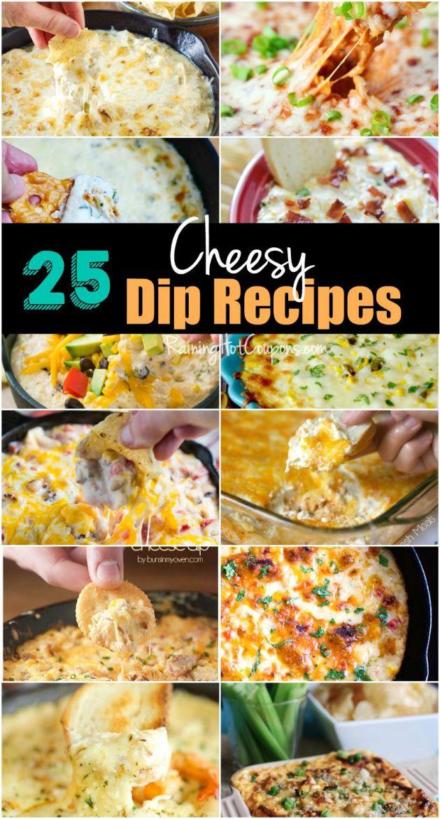 cheesy dip recipes