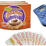 FREE Rhodes Microwave Cinnamon Rolls, Oven Mitt and more!