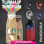 Starbucks Frapp Mixer Sweepstakes: WIN Headphones, Speakers and more!