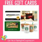 *HOT* e-Poll Survey Openings: FREE Amazon, Starbucks, Olive Garden Gift Cards and More (One of my Favorites!)