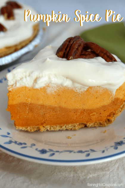 Triple Layer Pumpkin Spice Pie