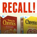 Recall Alert: General Mills is Voluntarily Recalling Cheerios & Honey Nut Cheerioes