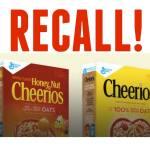 Recall Alert: General Mills is Voluntarily Recalling Cheerios & Honey Nut Cheerioes