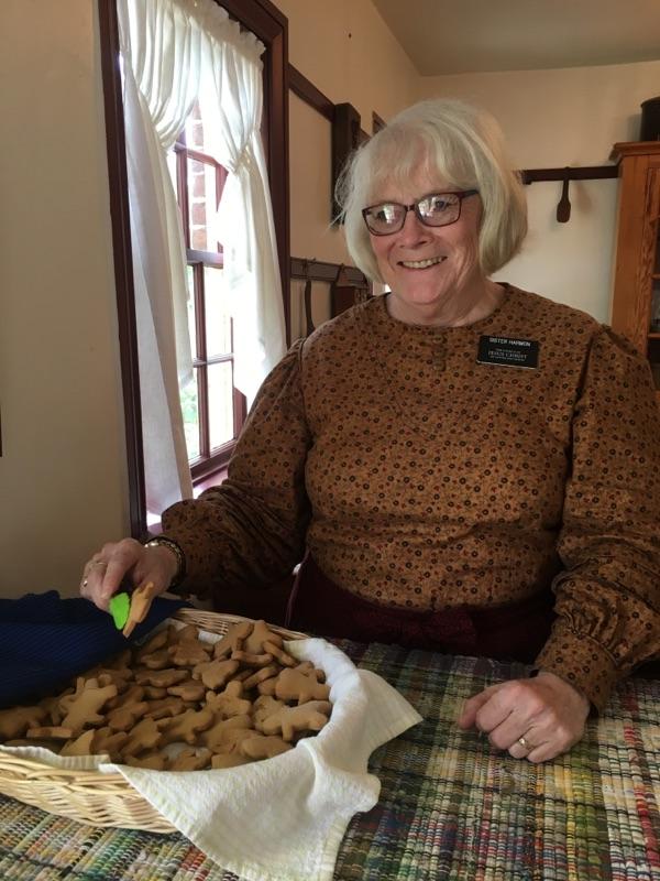Scovil Bakery Nauvoo gingerbread