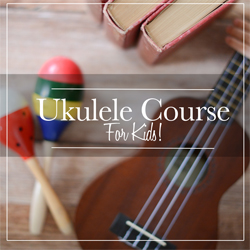 Check out this awesome ukulele course for kids. My 10-year-old daughter did it and loved it! #ukulele #ukuleleforkids #ukulelelessons #ukulelelessonsonline #musicinourhomeschool
