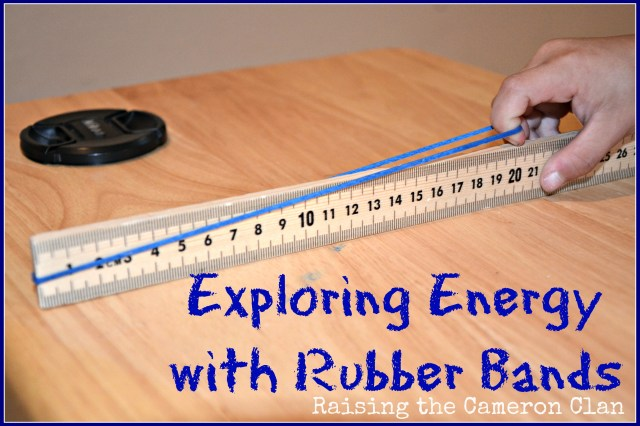 Crafts Using Rubber Bands http://www.raisingthecameronclan.com/2013/04/03/exploring-energy-with-rubber-bands/