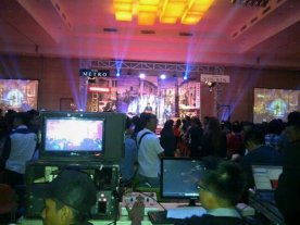 Sewa Big Screen, Lighting & Video Shooting di The Palm Grand Ballroom -Mall Taman Palem