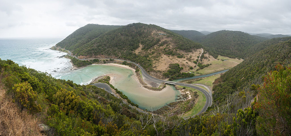 Great Ocean Road in Victoria, Australia