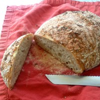 Guest Post by Sarah: Salted Rosemary Bread