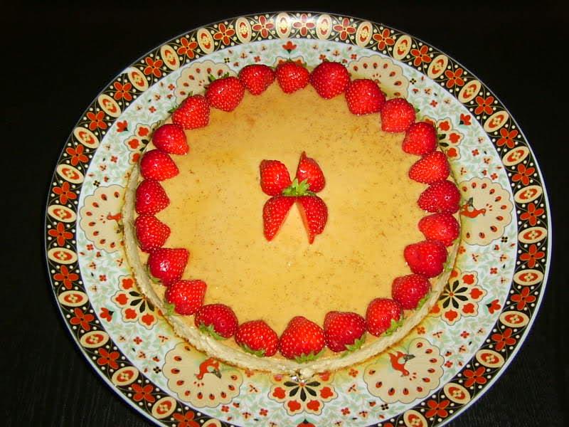 Karamelpudding (flan)