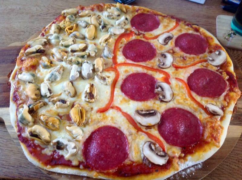Basisrecept voor een dunne pizzabodem