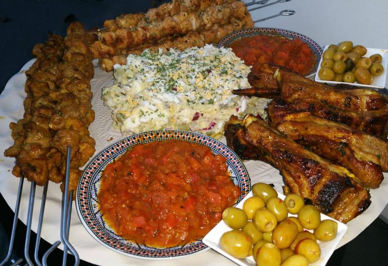 Marokkaans vleesschotel