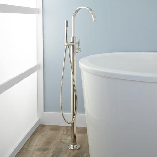 Medium Of Freestanding Tub Filler