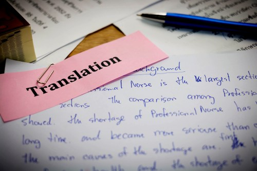 A few things to know before proofreading a translation …