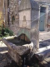 Fontaine du Portalet