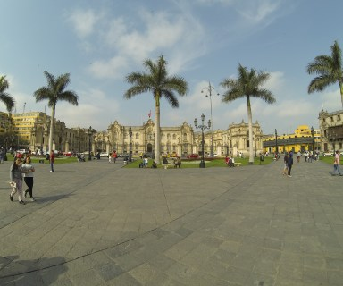 Cathedral of Lima at Plaza de Armas